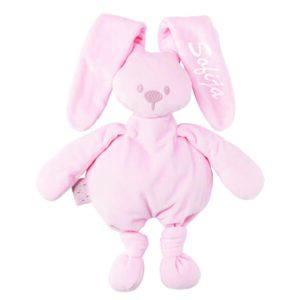 personalizirana igrača, personaliziran zajček, igrača z imenom, zajček z imenom, darilo ob rojstvu., telegram ob rojstvu, nattou, lapidou, personalizacija, personalizirana darila