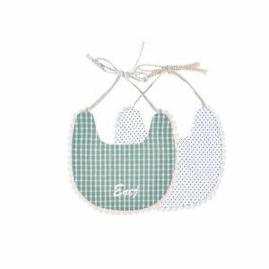 personaliziran slinček, slinček z imenom, telegram, darilo, darilo za novorojenčka
