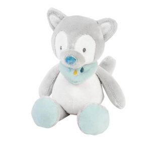 plišasta igrača, ropotuljica, darilo za dojenčka, telegram ob rojstvu, telegram, darilo, igrača, nattou, tiloo